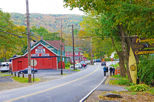 Phoenicia New York In The Catskill Mountains The Gateway