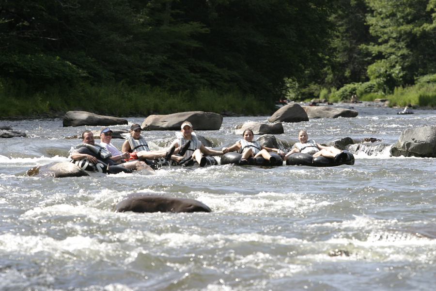Town Tinker  Tubing the Esopus Rapids