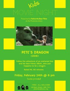 Kids-Movie-Night: Pete's-Dragon