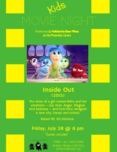 Movie Night - Inside Out
