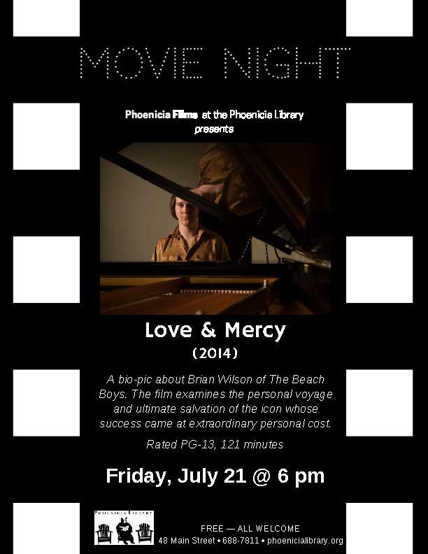 Movie Night: Love & Mercy
