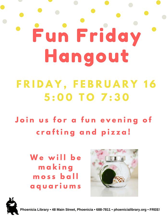 Fun Friday Hangout