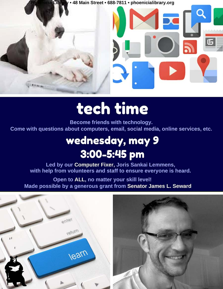 Tech Time Phoenicia Library