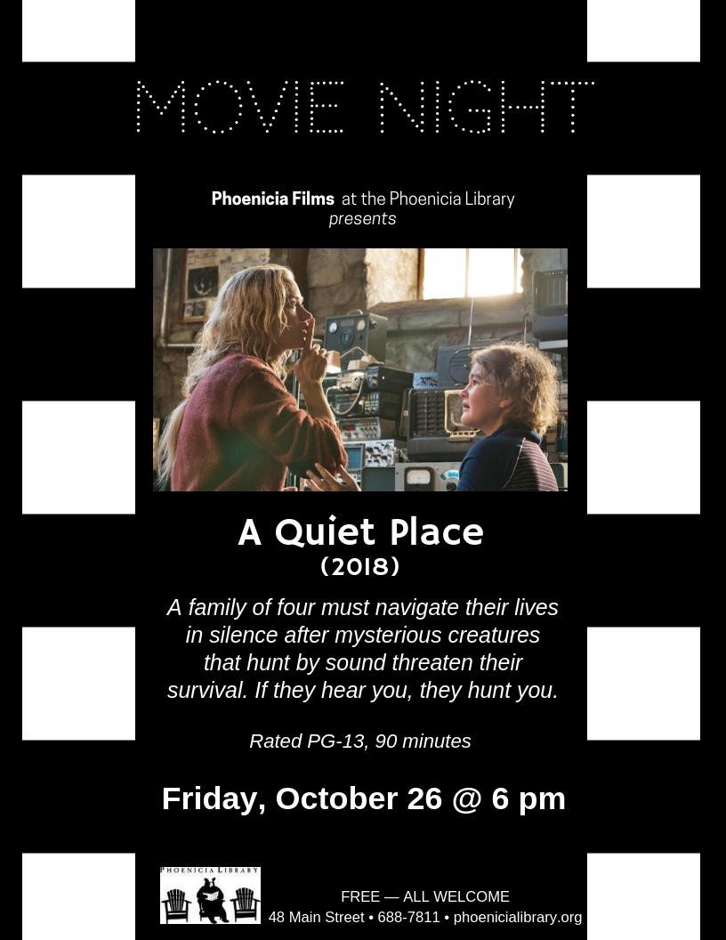 Movie Night_ A Quiet Place