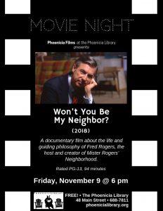 Movie Night_ Won't You Be My Neighbor