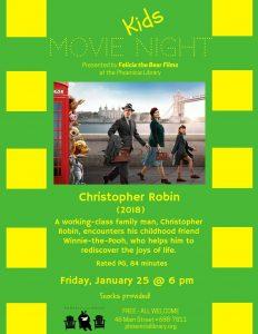 Kids Movie Night - Christopher Robinson