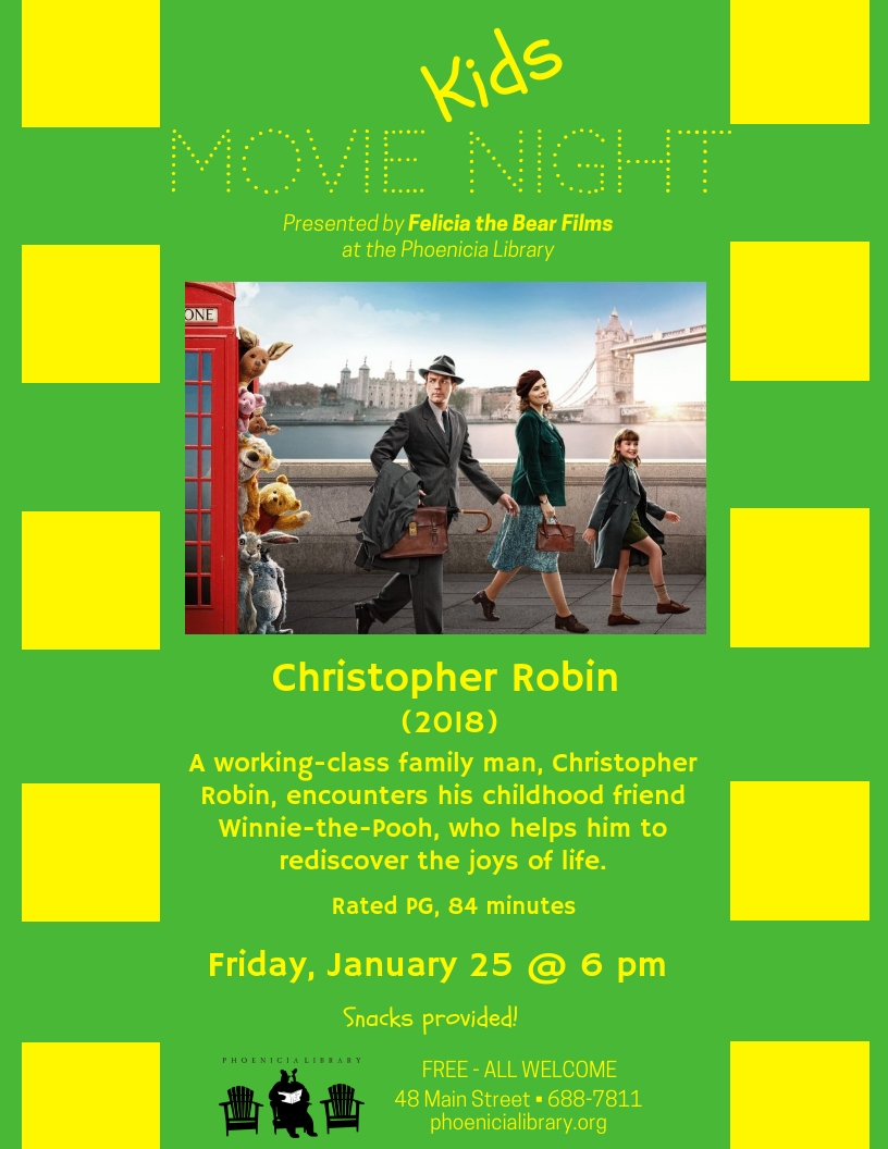 Kids Movie Night - Christopher Robinson