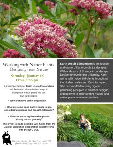 Working with Native Plants