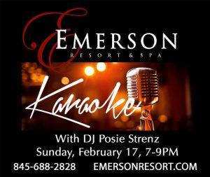 Emerson Karaoke Feb 2019