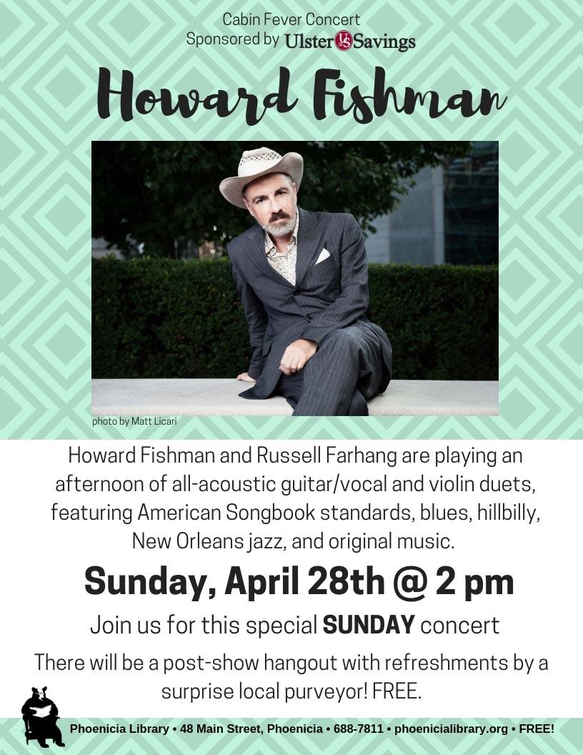 Howard Fishman Cabin Fever Series 2019