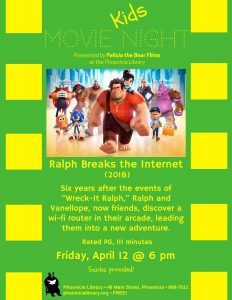 Kids Movie Night - Ralph Breaks the Internet