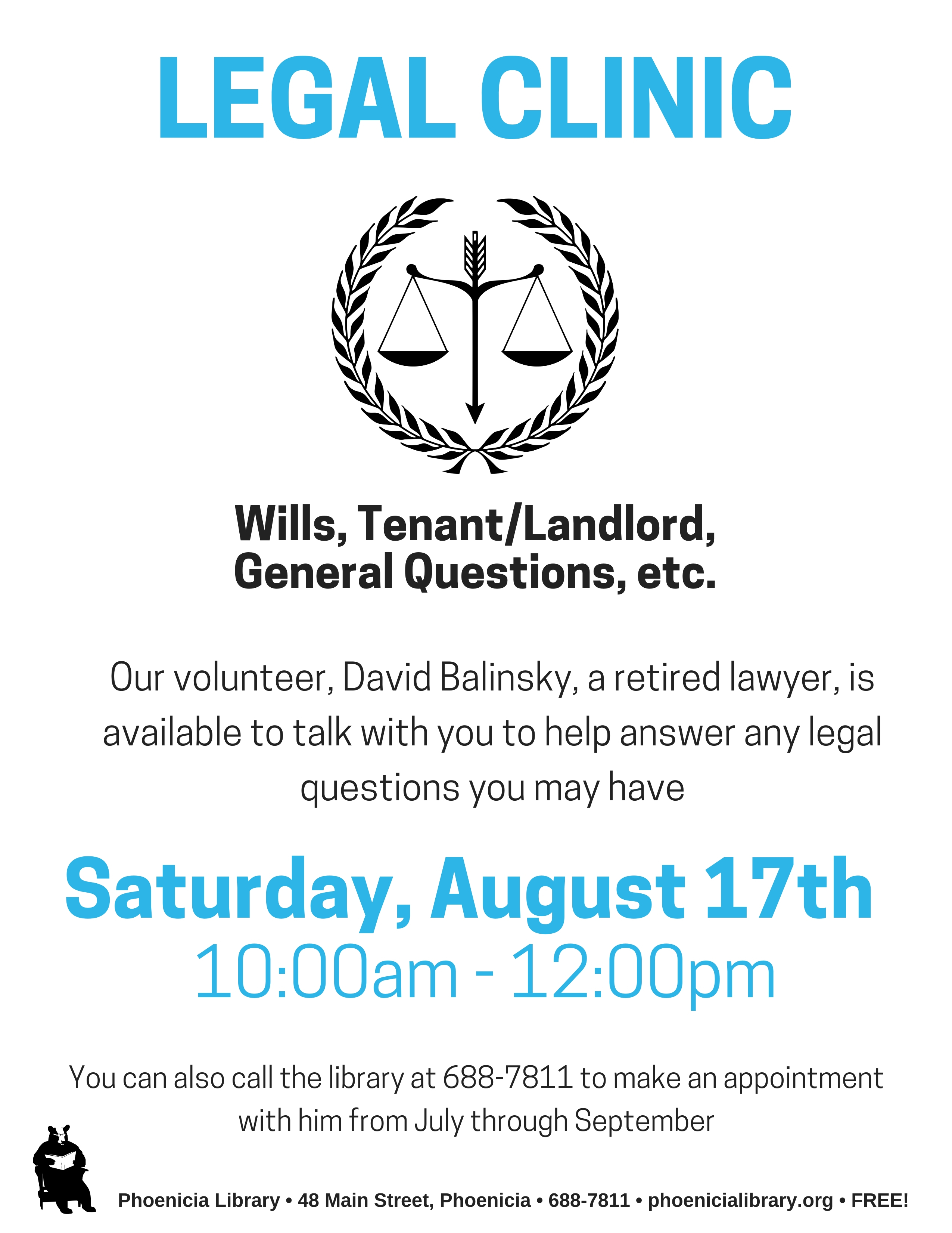 Drop In Legal Clinic