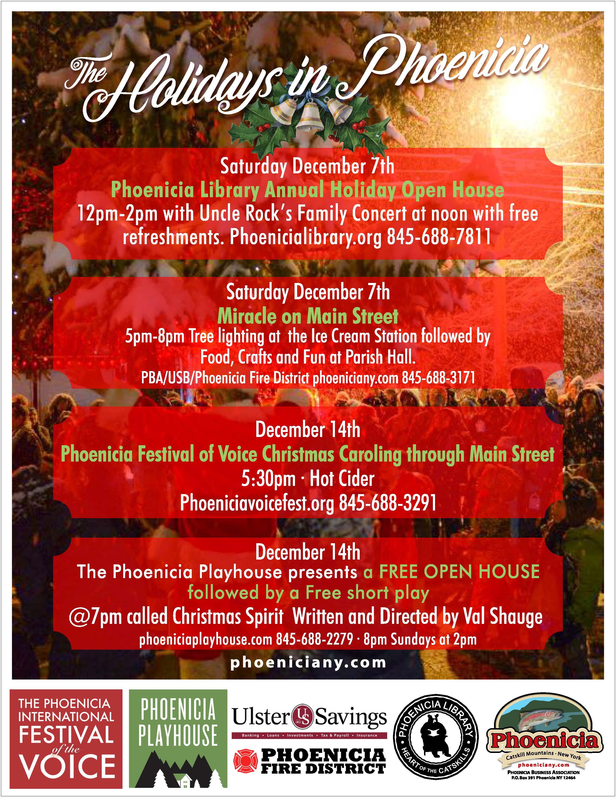Phoenicia Holiday