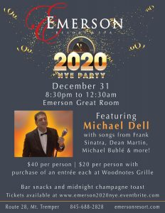 New Year's 2019 at the Emerson