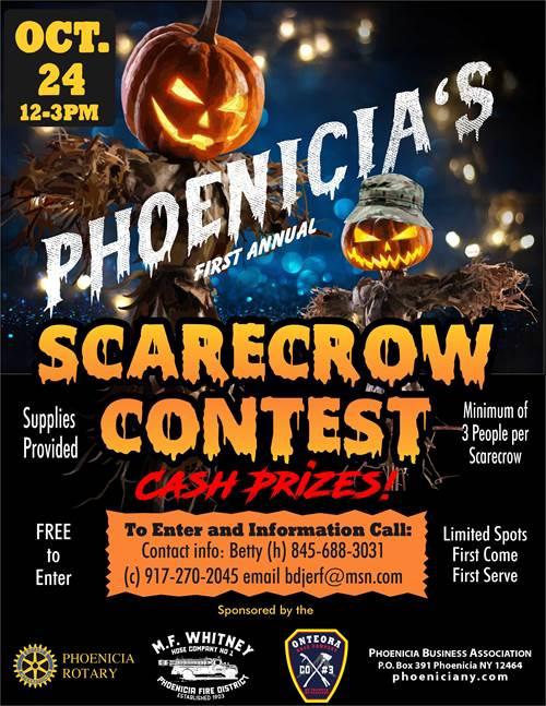 Phoenicia Scarecrow Contest