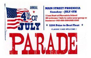 4th of July Parade Phoenicia NY